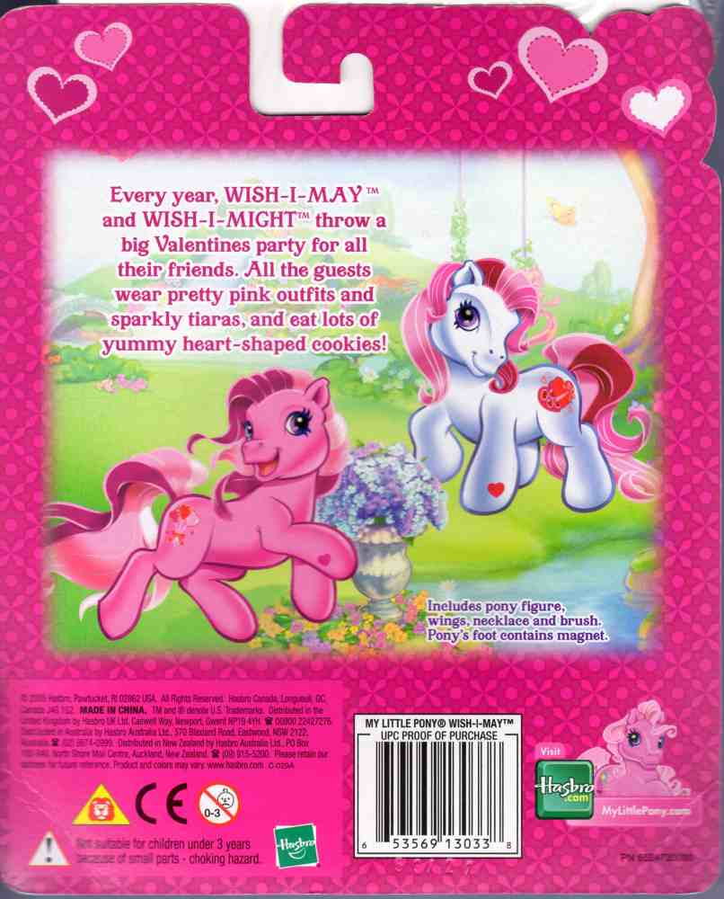 G3 My Little Pony Reference Wish I May